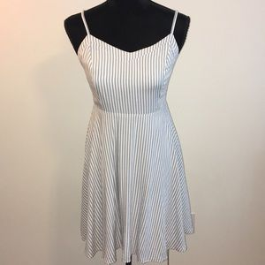 Old Navy Blue & Off White Striped Sundress NWT